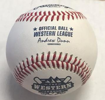 New Rawlings Pecos League Baseball Roswell Invaders Green Seam!